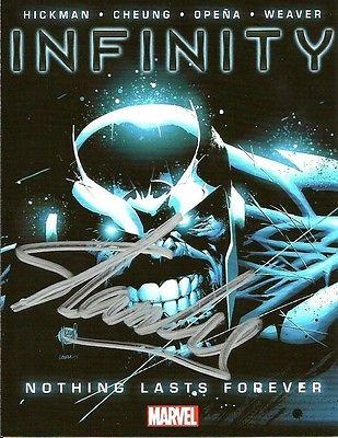 Stan Lee signed infinity