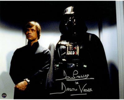 david prowse signed autograph photo
