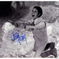 Carrie Fisher signed autograph photo psa