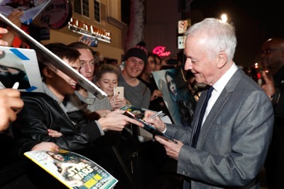 "HOLLYWOOD, CA - DECEMBER 10:  Actor Anthony Daniels attends The World Premiere of Lucasfilm's highly anticipated, first-ever, standalone Star Wars adventure, ""Rogue One: A Star Wars Story"" at the Pantages Theatre on December 10, 2016 in Hollywood, California.  (Photo by Rich Polk/Getty Images for Disney) *** Local Caption *** Anthony Daniels"