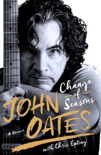 change of seasons john oates signed autograph book