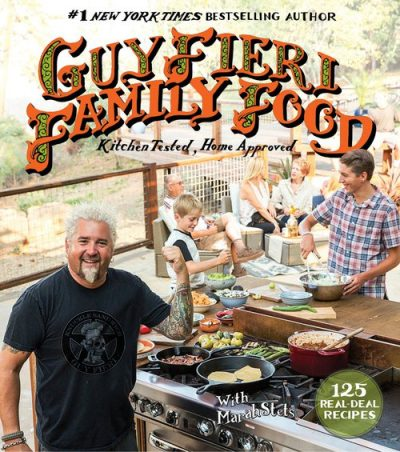 guy fieri family food signed
