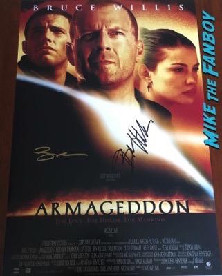 ben-affleck-signed-autograph-Armageddon poster-psa-photo-rare-3