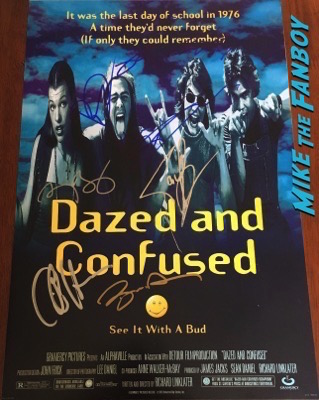 ben-affleck-signed-autograph-Dazed and Confused poster-psa-photo-rare-3