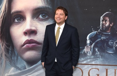 """LONDON, ENGLAND - DECEMBER 13:  Gareth Edwards attends the exclusive screening of  Lucasfilm's highly anticipated, first-ever, standalone Star Wars adventure """"Rogue One: A Star Wars Story"""" at the BFI IMAX on December 13, 2016 in London, England.  (Photo by Stuart C. Wilson/Getty Images for Disney) *** Local Caption *** Gareth Edwards"""
