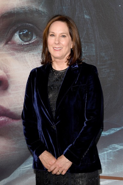 "LONDON, ENGLAND - DECEMBER 13:  Kathleen Kennedy attends the exclusive screening of  Lucasfilm's highly anticipated, first-ever, standalone Star Wars adventure ""Rogue One: A Star Wars Story"" at the BFI IMAX on December 13, 2016 in London, England.  (Photo by Stuart C. Wilson/Getty Images for Disney) *** Local Caption *** Kathleen Kennedy"