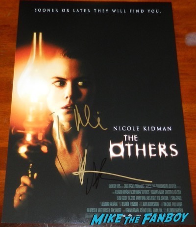 Nicole Kidman signed The Others poster