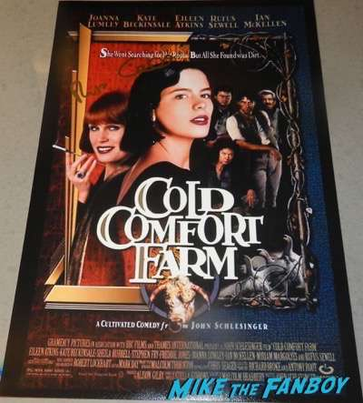 rufus sewell signed autograph cold comfort farm poster