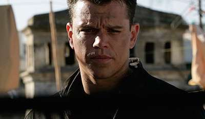 jason bourne rare promo photo