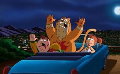 Family Guy Season fourteen dvd review