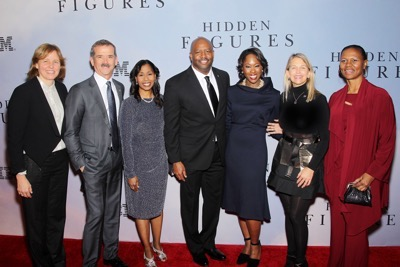-  New York, NY - 12/10/16 - 20th Century Fox Celebrates 'HIDDEN FIGURES' with Special New York Screening Brought to you by IBM. -Pictured: Nasa Astronauts -Photo by: Marion Curtis/Starpix -Location: SVA Theater