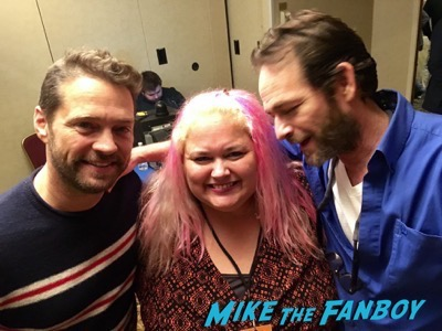 Jason Priestly luke perry meeting fans 90210 star now