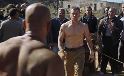 jason bourne rare promo photo shirtless no shirt naked