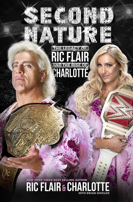Ric Flair Second nature signed book