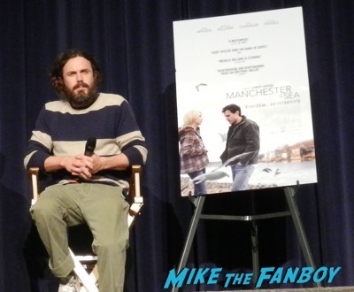 Casey Affleck manchester by the sea q and a meeting fans 1