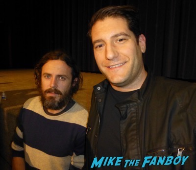 Casey Affleck meeting fans photo manchester by the sea q and a meeting fans 23