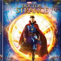 Doctor Strange blu ray cover promo