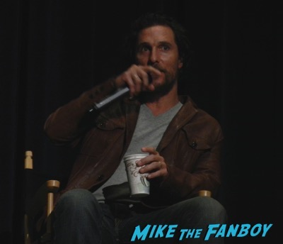 Gold Q and A Fans meeting Matthew McConaughey, Bryce Dallas Howard and Edgar Ramirez1
