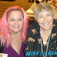 Helen Reddy fan photo signing autographs now 2016 1
