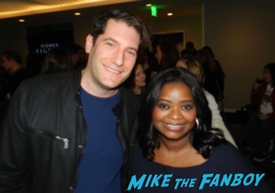 Octavia Spencer fans signing autographs q and a
