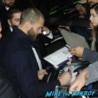 Jamie Dornan signing autographs Jimmy Kimmel Live meeting fans 1