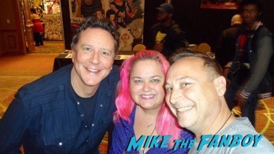 Judge Reinhold fan photo selfie now 2017 1