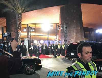 Palm springs film festival gala 2017 signing autographs