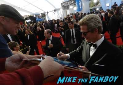 Matthew Modine SAG Awards 2017 signing autographs bleachers 14