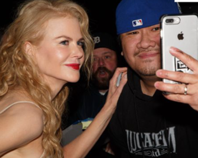 Nicole Kidman selfie fan photo palm springs film festival