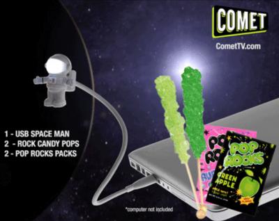 Comet TV jan giveaway pack