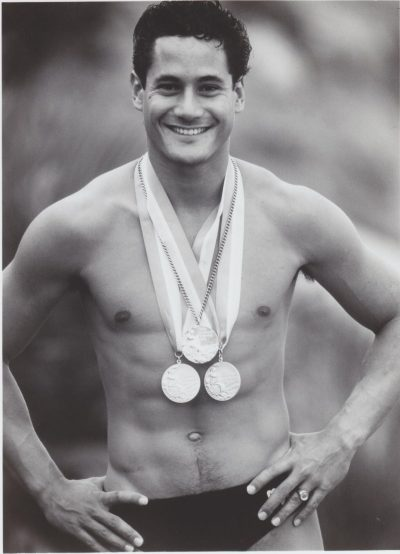 greg louganis shirtless abs torso no shirt