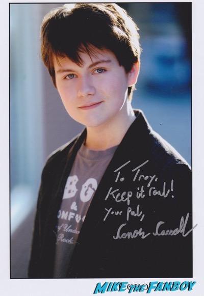 carrol_connor signed photo rare