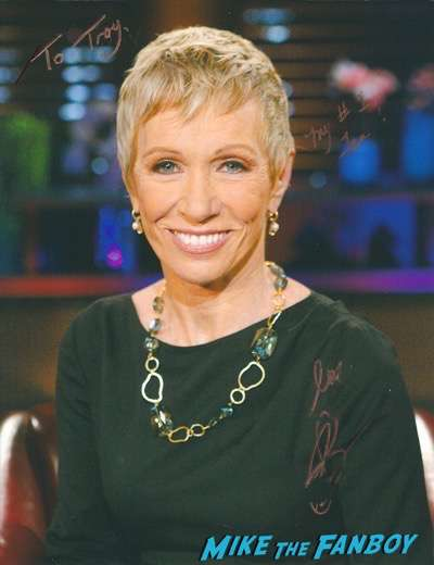 Barbara Borcoran signed autograph photo