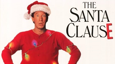 the santa clause logo poster