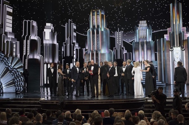 Academy Awards 2017 Oscars mixup
