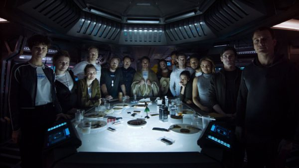Alien: Covenant promo cast photo rare
