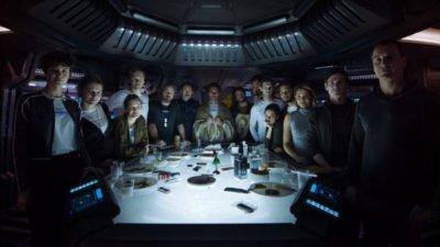 Alien: Covenant promo cast photo rare