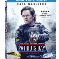 PATRIOTS DAY arrives on Digital HD March 14 and 4k Ultra HD Combo Pack, Blu-ray Combo Pack, DVD, and On Demand March 28