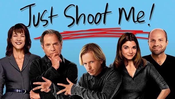 Just Shoot me logo cast photo