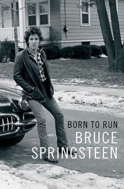 bruce springsteen signed book