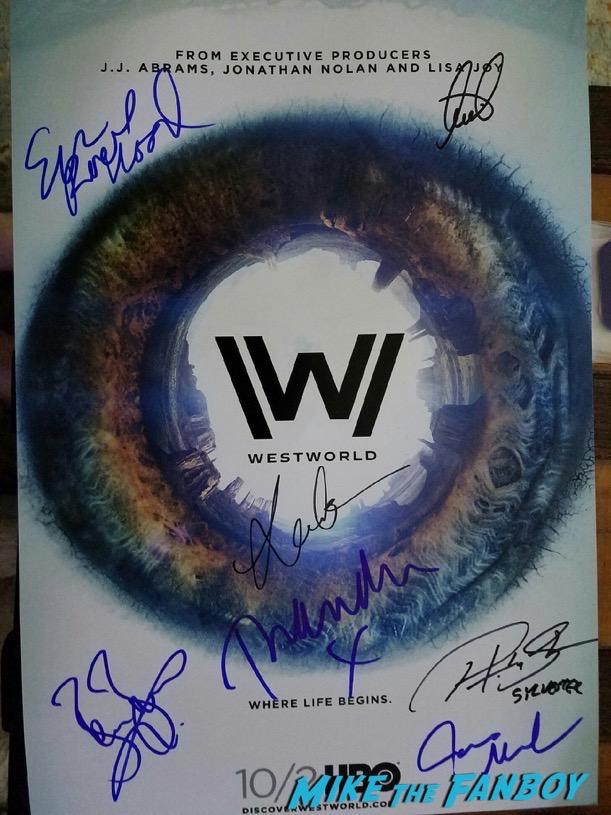Evan Rachel Wood signed autograph photo psa
