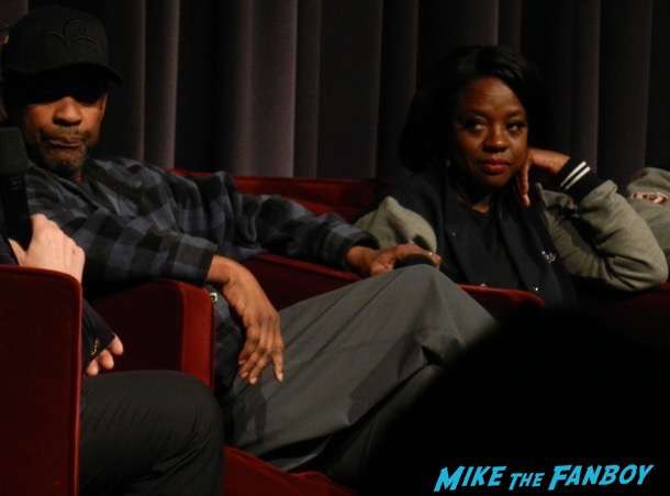 Fences FYC Q and a Denzel Washington disses fans 1