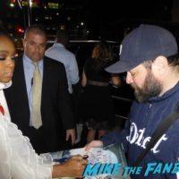 Hidden Figures cast signing autographs Janelle Monáe