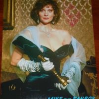 Lesley Ann Warren signed autograph clue ms scarlett photo psa