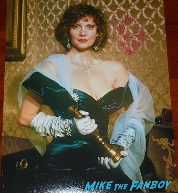 Lesley Ann Warren signed autograph clue ms scarlett photo psa