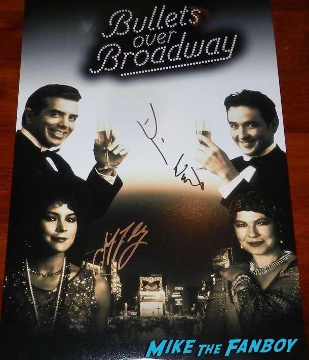 Jennifer Tilly signed autograph Bullets over broadway poster