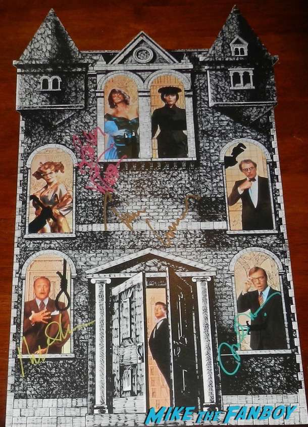 Lesley Ann Warren signed autograph clue: The Movie mobile tim curry martin mull michael McKean