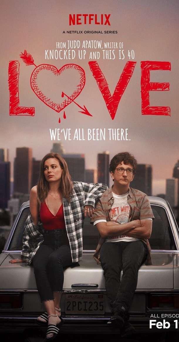 Love promo still poster netflix