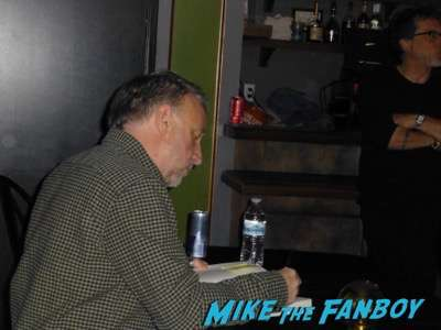 Peter Hook New Order Book Signing 2017 los angeles 7