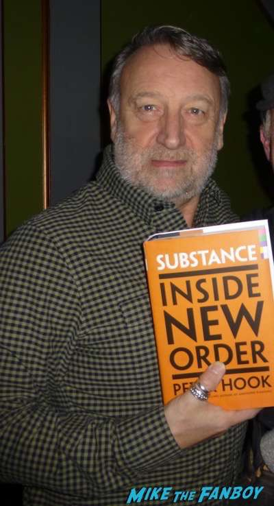 Peter Hook New Order now meeting fans rare